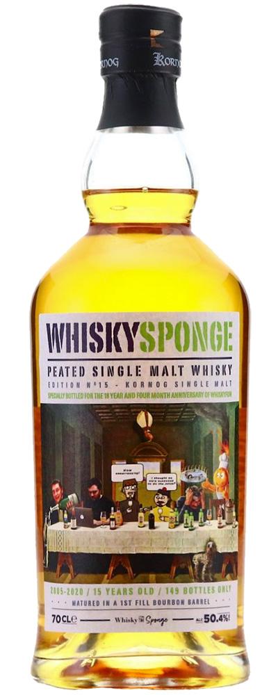 Kornog 2005 (Whiskyfun / WhiskySponge)