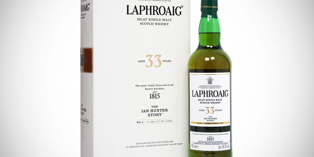 Laphroaig 33 Years Ian Hunter - Book 3