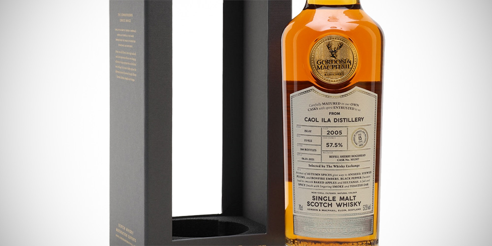 Caol Ila 2005 Sherry - G&M for The Whisky Exchange