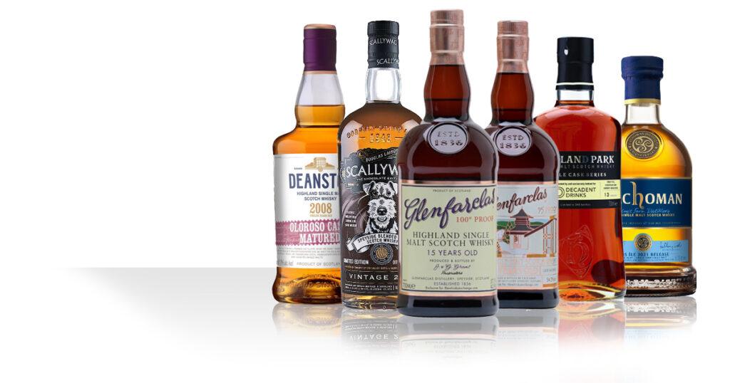 Glenfarclas for TWE / Highland Park for Decadent-Drinks / Kilchoman Feis Ile