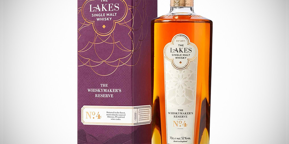 The Lakes Whiskymaker's Reserve No.4