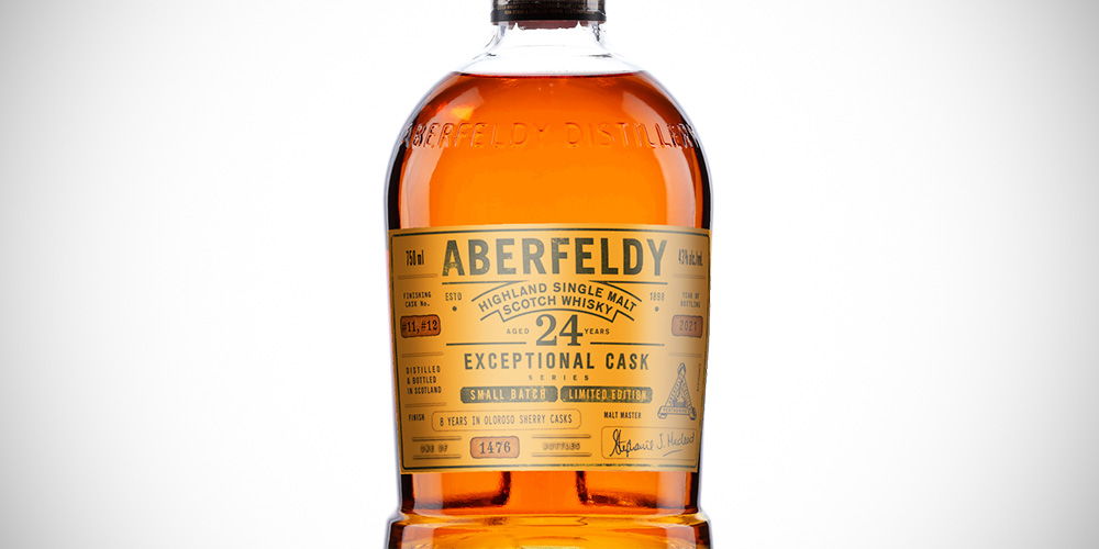 Aberfeldy Exceptional Cask 24 Years - Oloroso