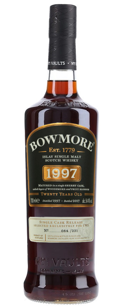 Bowmore 1997 (single sherry cask for CWS)