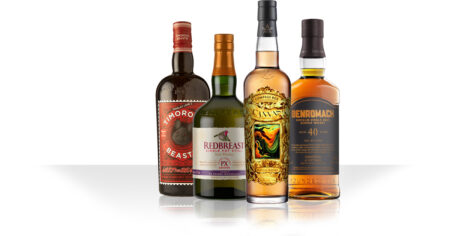 Compass Box Canvas / Redbreast PX Edition / Benromach 40