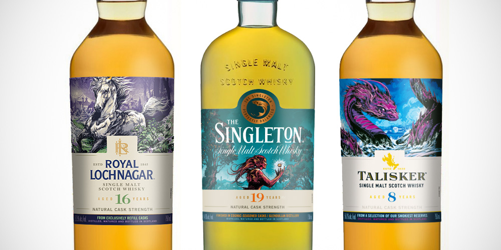 Royal Lochnagar 16 / Singleton Glendullan 19 / Talisker 8 Years