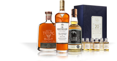 New: 20 Whiskies that changed the world / Macallan Harmony Collection