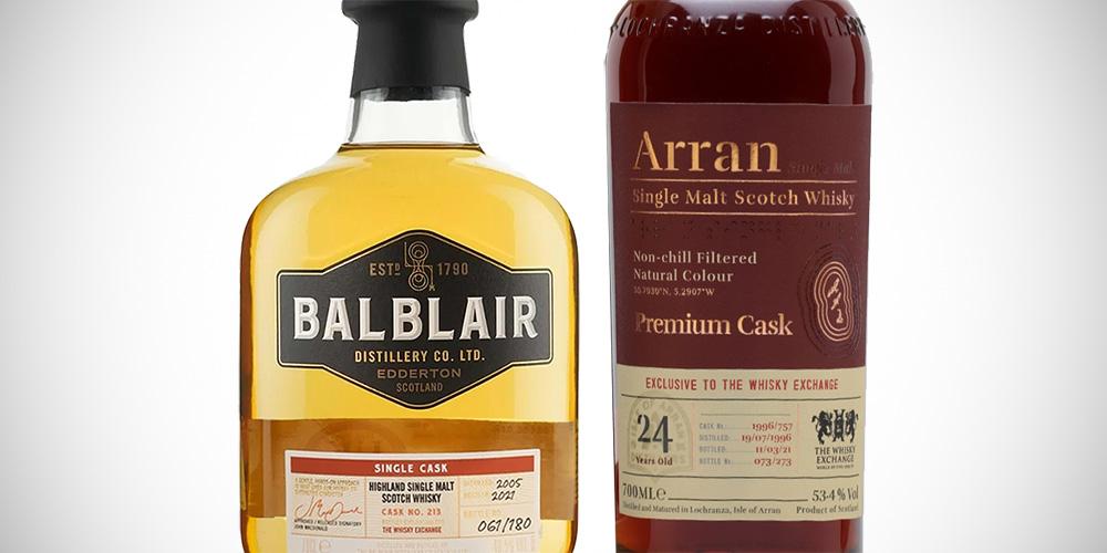 Balblair 2005 / Arran 1996 (The Whisky Exchange)