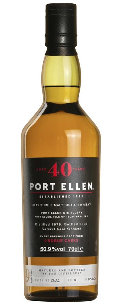 Port Ellen 40 Year Old '9 Rogue Casks'