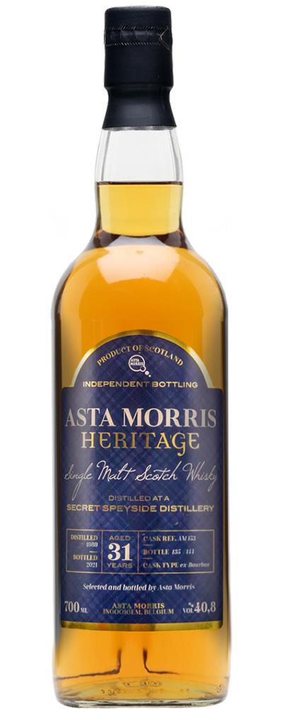 Secret Speyside 1989 (Asta Morris Heritage)