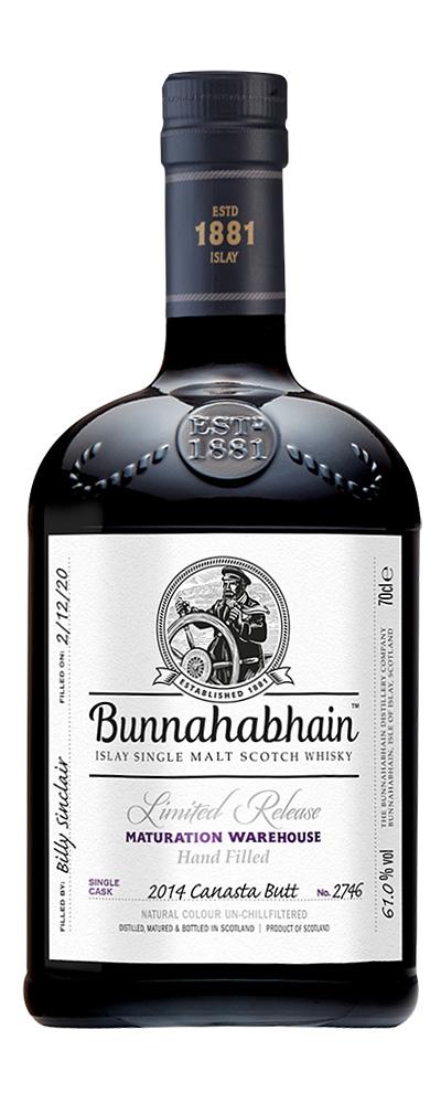 Bunnahabhain 2014 Canasta Butt