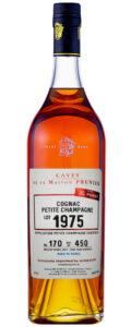 Cognac Prunier Petite Champagne 1975