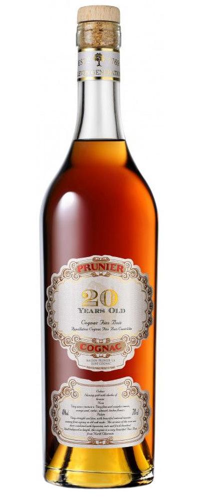 Prunier cognac: 20 Years / 40 Years / 1979 / 1977 / 1975 / 1967 (Wine4You)
