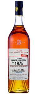 Cognac Prunier Grande Champagne 1975