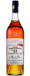 Prunier cognac: Lot 51 / Lot 50 / Lot 1946 / Lot 1939 / Lot 1931 (Wine4You)