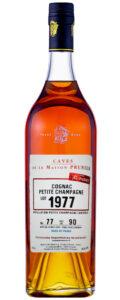 Cognac Prunier Petite Champagne 1977
