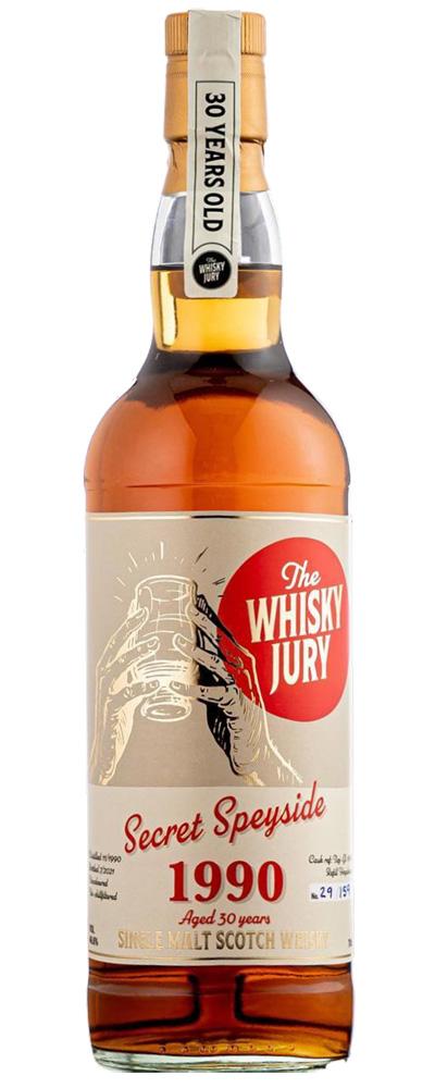 Secret Speyside 1990, twice (The Whisky Jury)